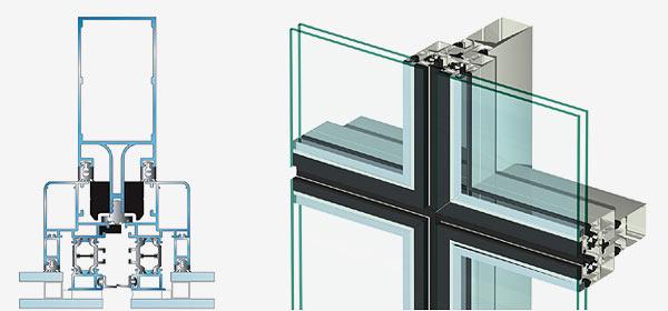 Фасадные системы Rescara R50