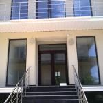Остекление пансионата Ривьера в пгт. Николаевка