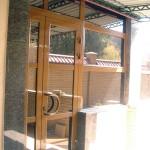 Остекление бассейна, частный особняк в Симферополе