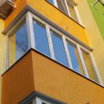 Остекление балкона в многоэтажном доме